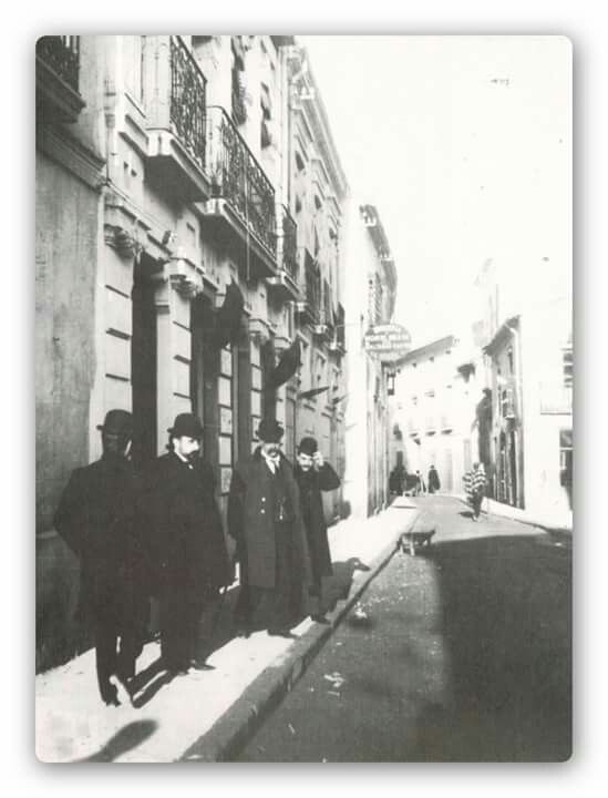 C/Marqués de Molins. Casi casa de Rebeca. Principios de siglo.