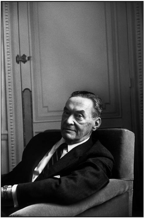 © Henri Cartier-Bresson/Magnum Photos US journalist Walter LIPPMANN. 1959.