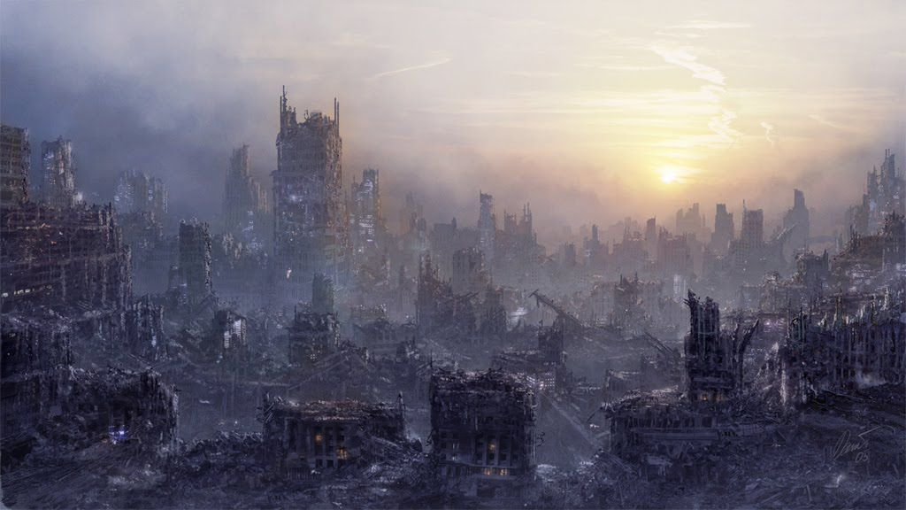 Destroyed City by Nacho3 on DeviantArt |Future Destroyed City
