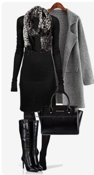 91e967c6 What Shoes and Jewelry to Pair With Black Cocktail Dress | Fall ...