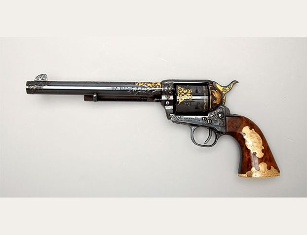 Presidential Gun. Designed for Nixon, but he never received it due to the Watergate Scandal