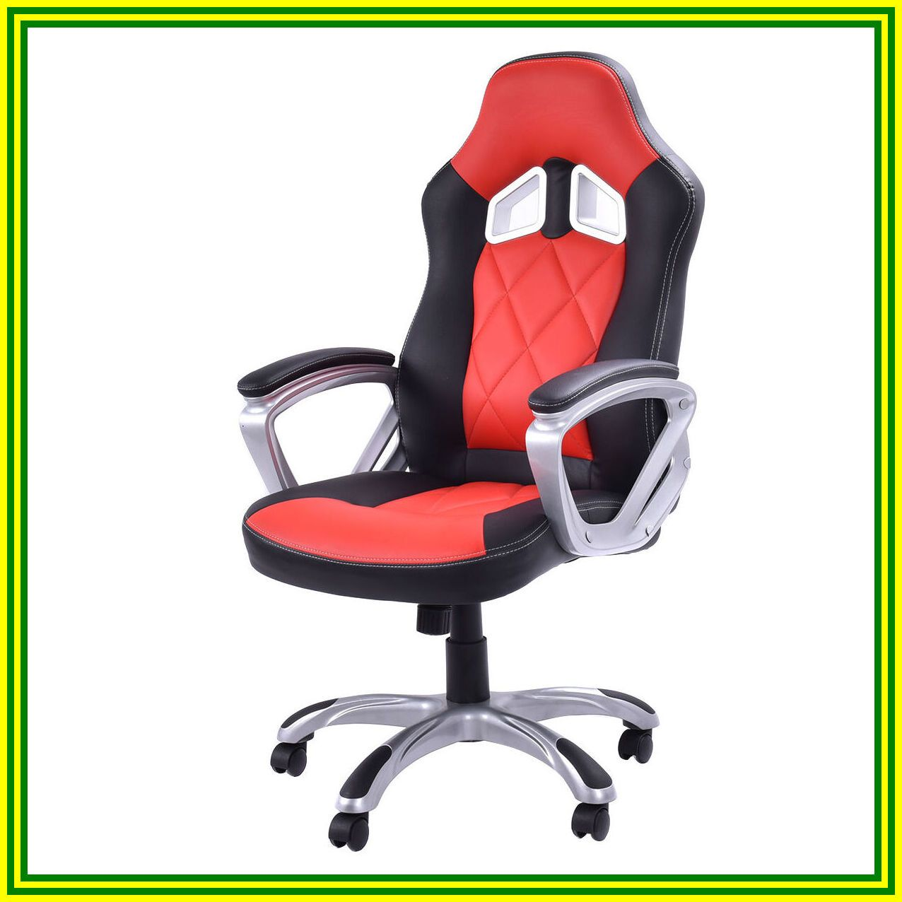 swivel gaming chair without wheels