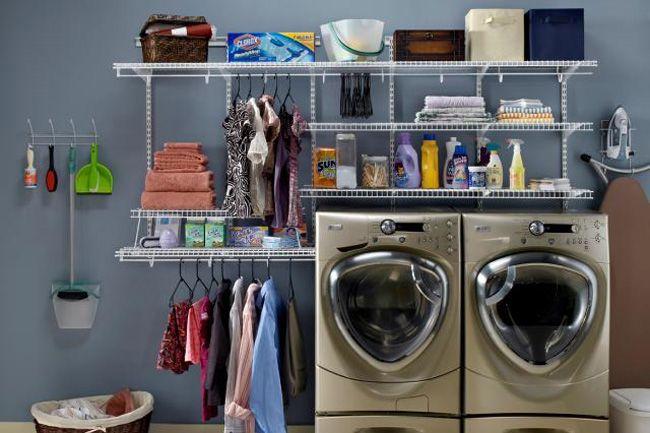 Closetmaid Laundry Room For A Small Space Closetmaid Small