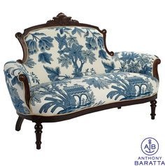 blue and cream upholstered furniture - Google Search