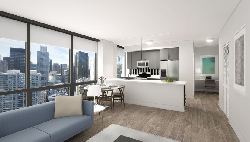 Luxury Apartment Rendering For Experience73