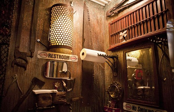 15 breathtaking examples of steampunk interior design Steampunk interior