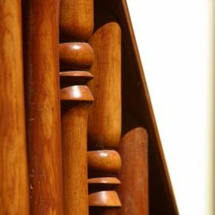Best How To Refinish Banisters Wood Railing Stair Banister 400 x 300