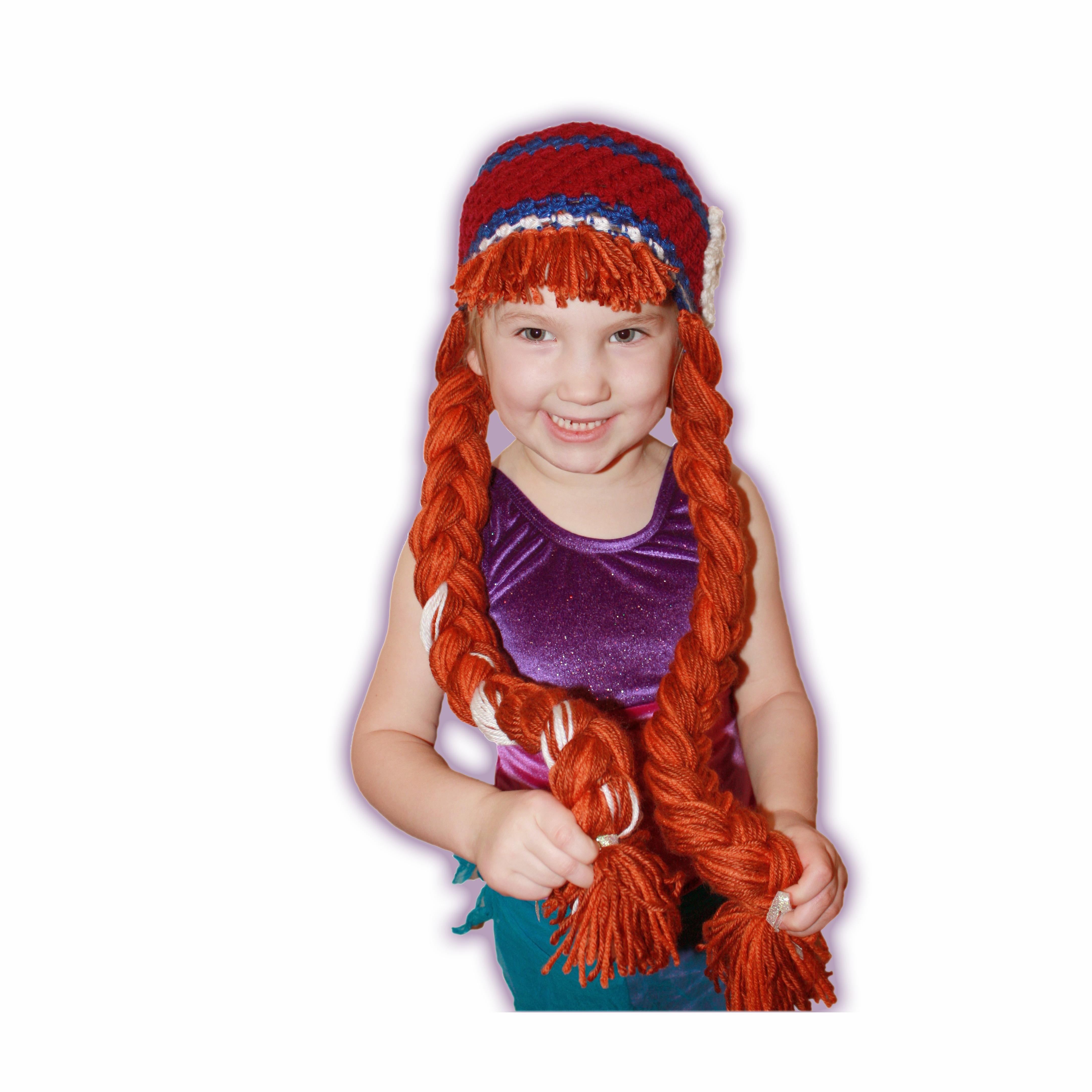 Anna Beanie Wig Tutorial | mooimakers | Pinterest