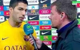 Luis Suárez habló en los micrófonos de Movistar Plus