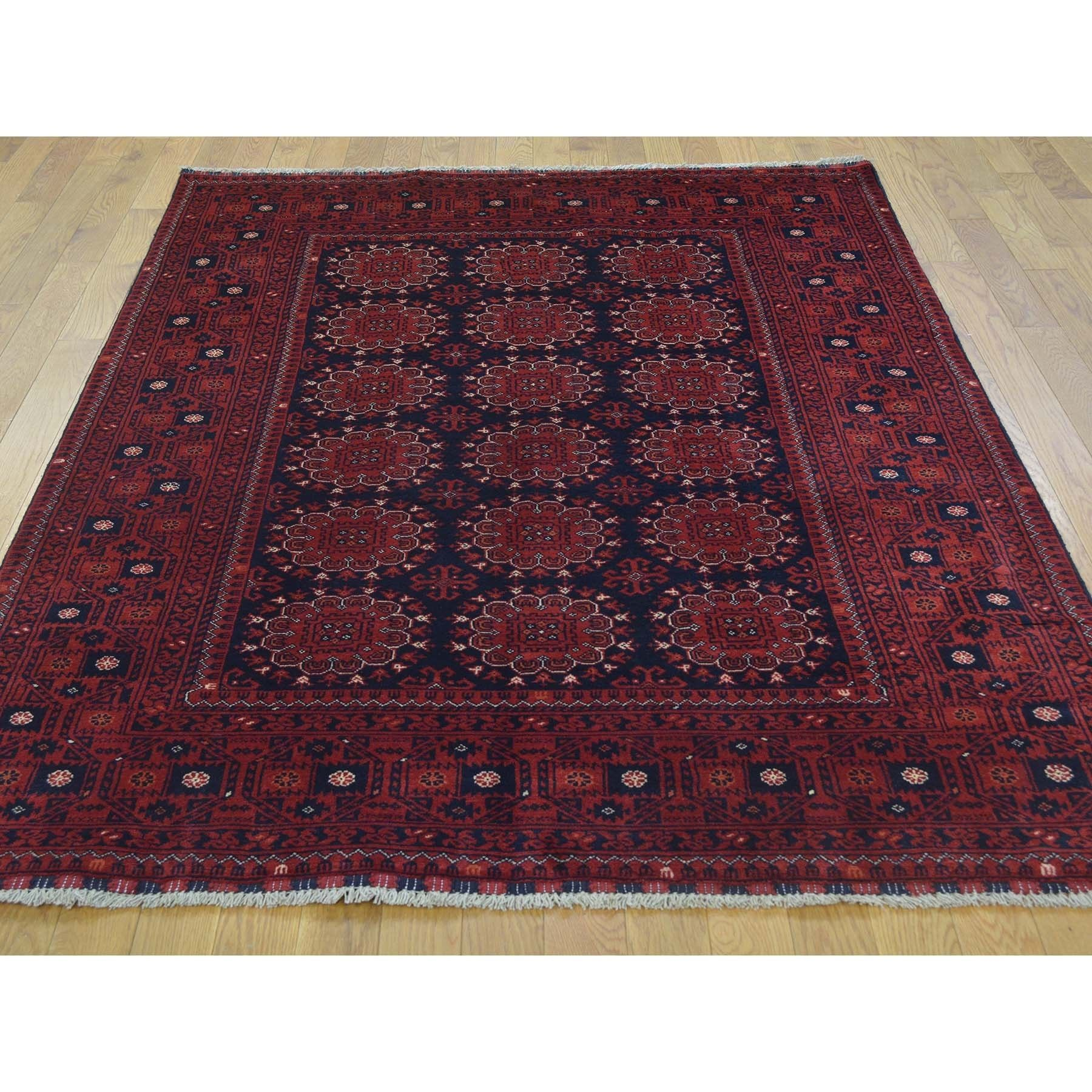 1800getarug Afghan Khamyab Turkoman Pure Handmade Rug