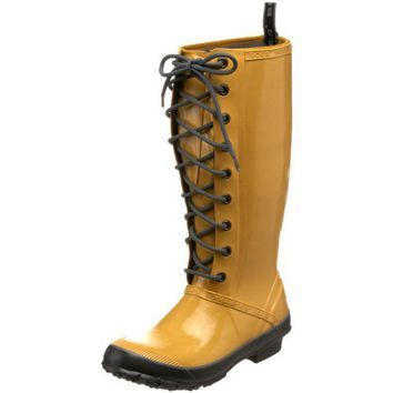 Bogs Women's Elyse Garden Lace Boot,Yellow,7 M US.  Where, oh where can I find these????