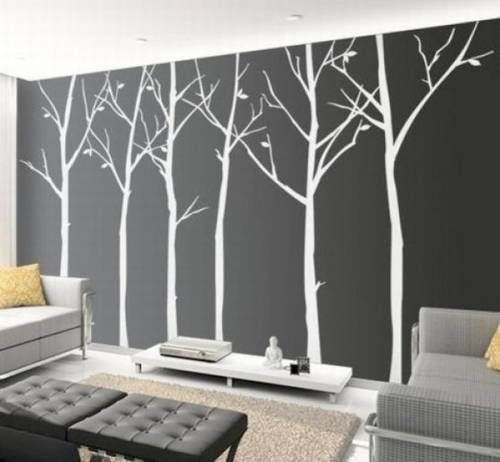 Wall art is a great 2D way to spruce up your room (21 photos)