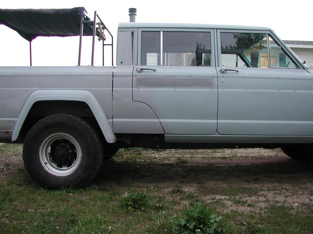 The J4X: 4-door J20 build - International Full Size Jeep