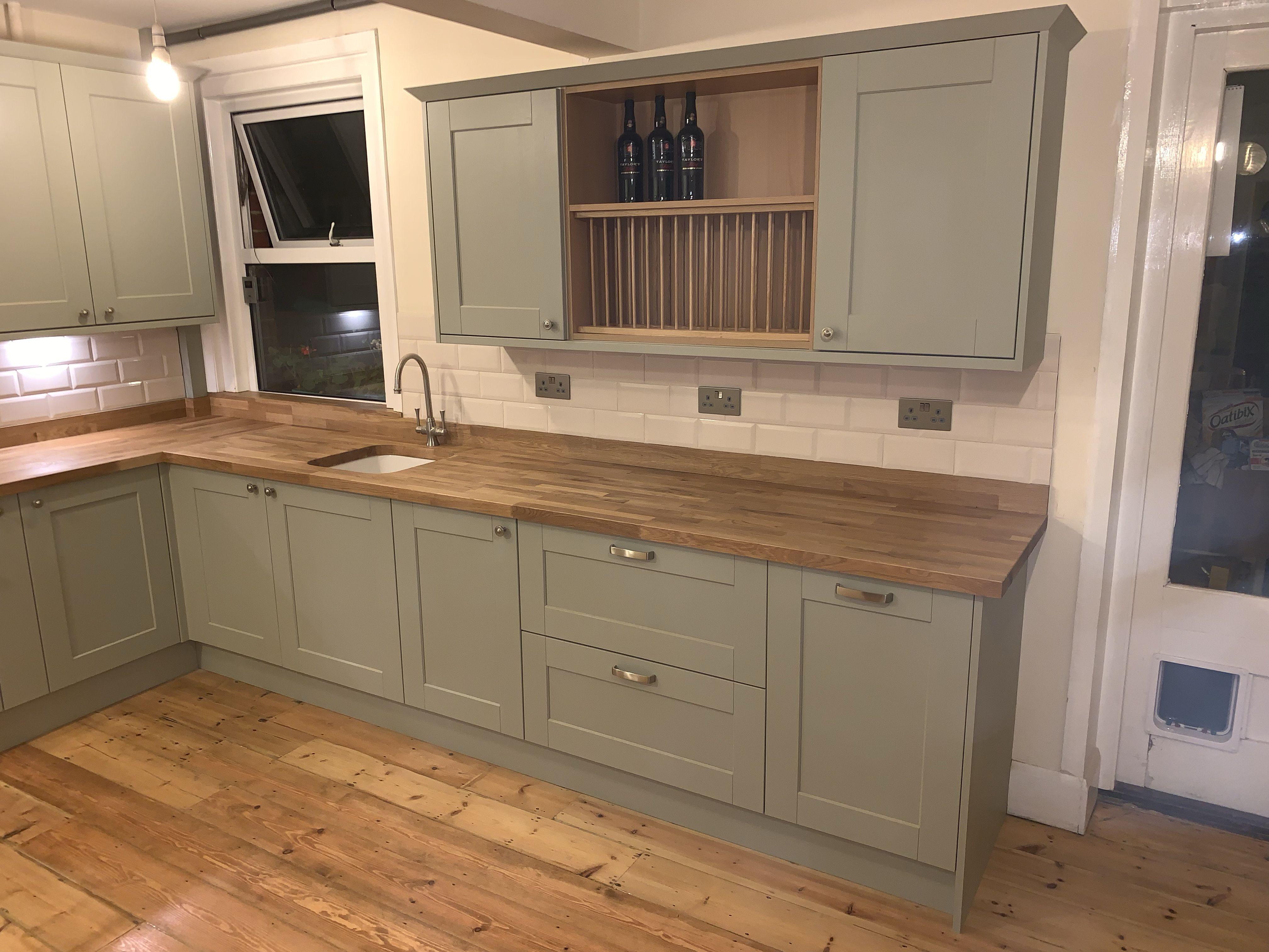 Shaker Style Sage Green Kitchen Design Decor Home Decor Kitchen Rustic Kitchen