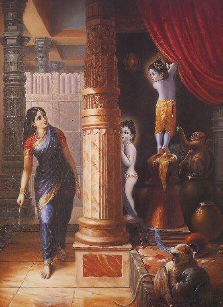 Krishna Carries His Father's Wooden Shoes. Sometimes His father, while  worshiping Narayana, would ask Him to bring his wooden slippers, and … |  Pinteres…