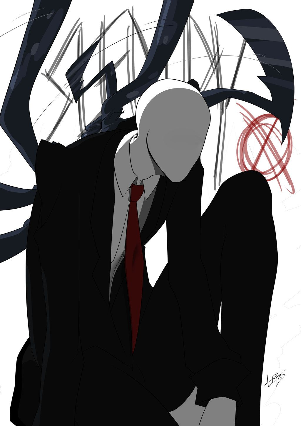 FANART: SLENDERMAN by L1f3Les.deviantart.com on ...
