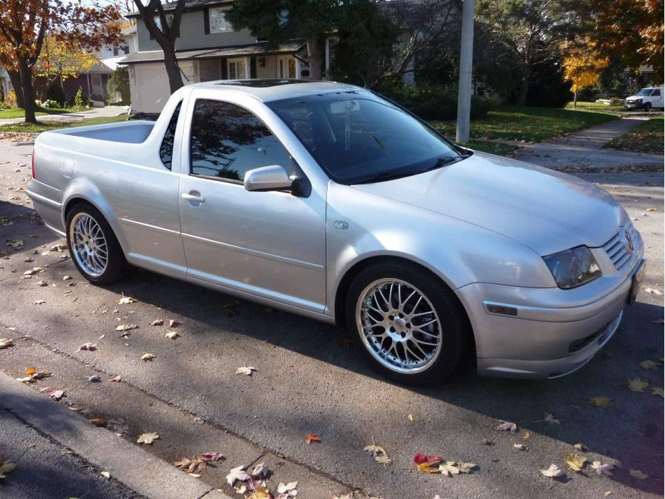VWVortex com - VW MKIV Jetta pickup conversion kit by Smyth