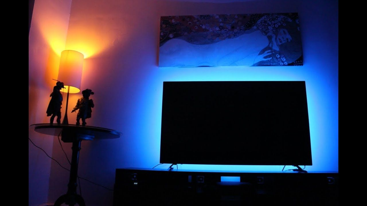 How To Install Led Light Strips Behind Tv Usb Led Strip For Tv