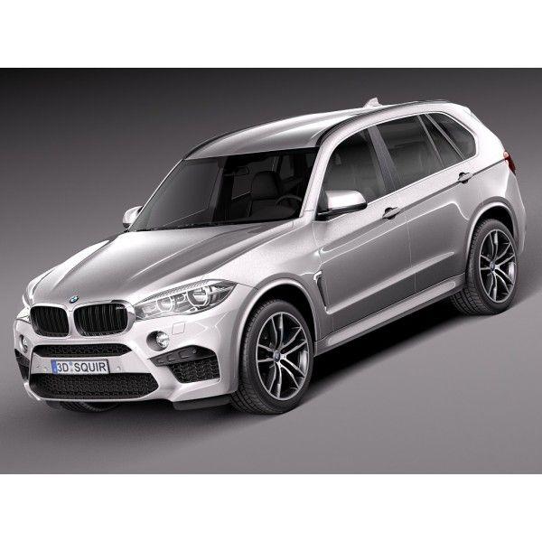 BMW X5M 2016 - 3D Model