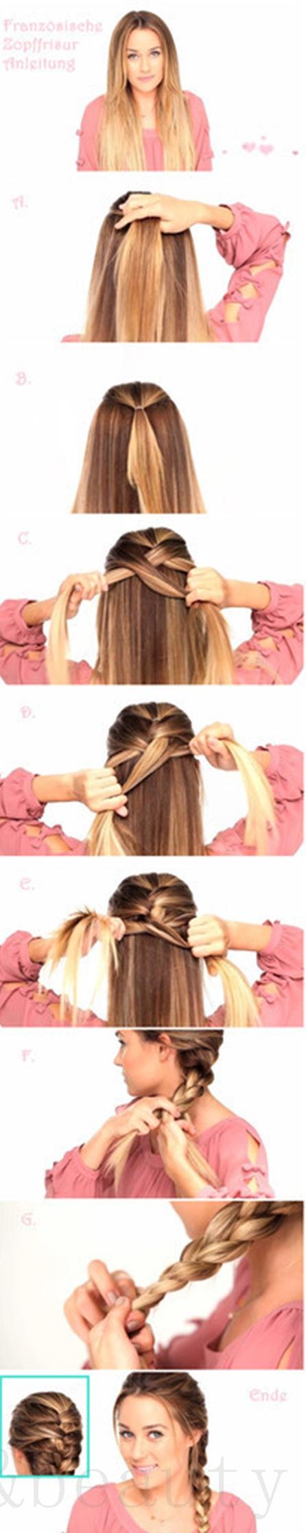 Hair tutorials for long hair styles u hairstyles u pinterest