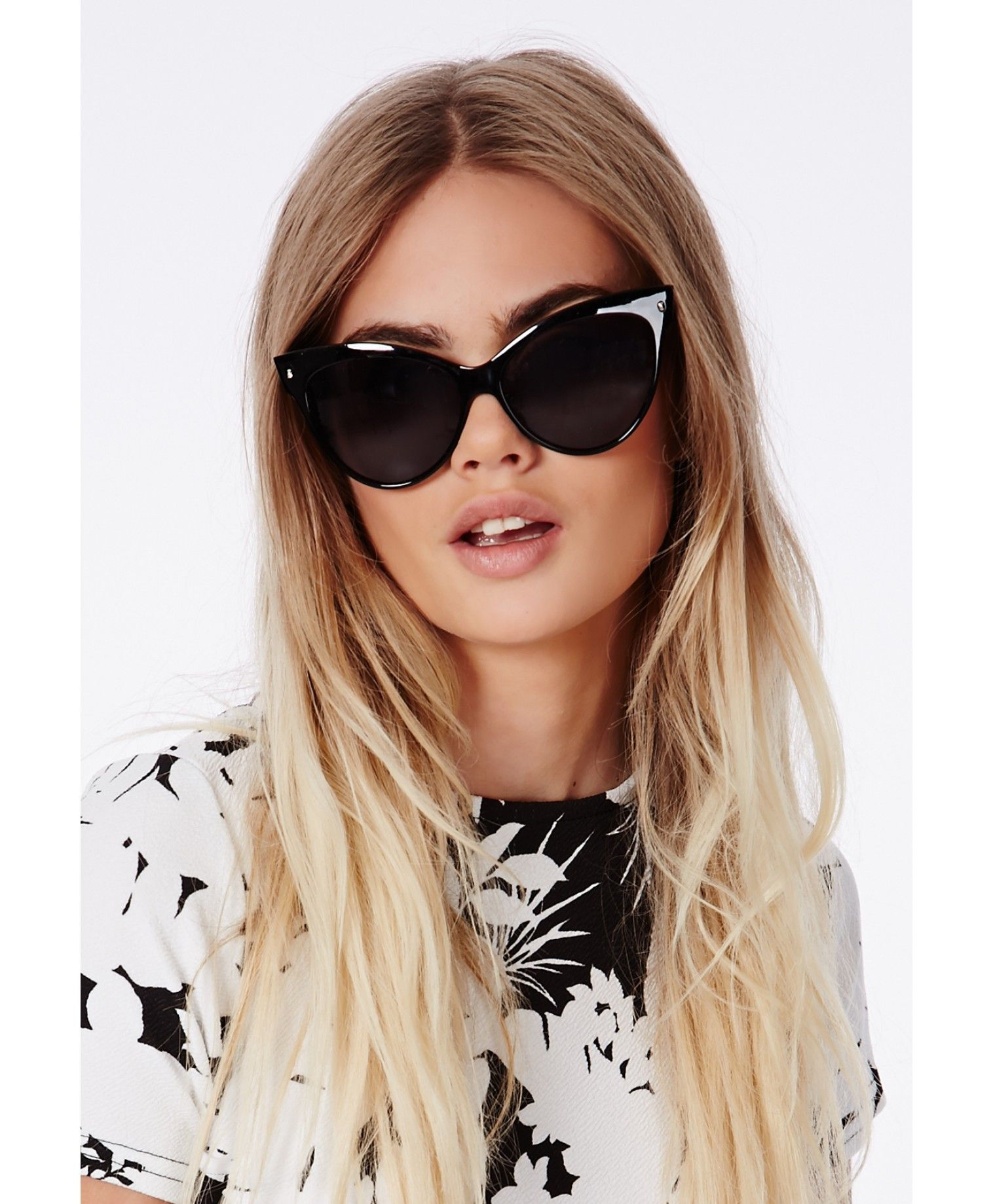 3e62011c80f6 Ozira Cat Eye Sunglasses - Accessories - Missguided