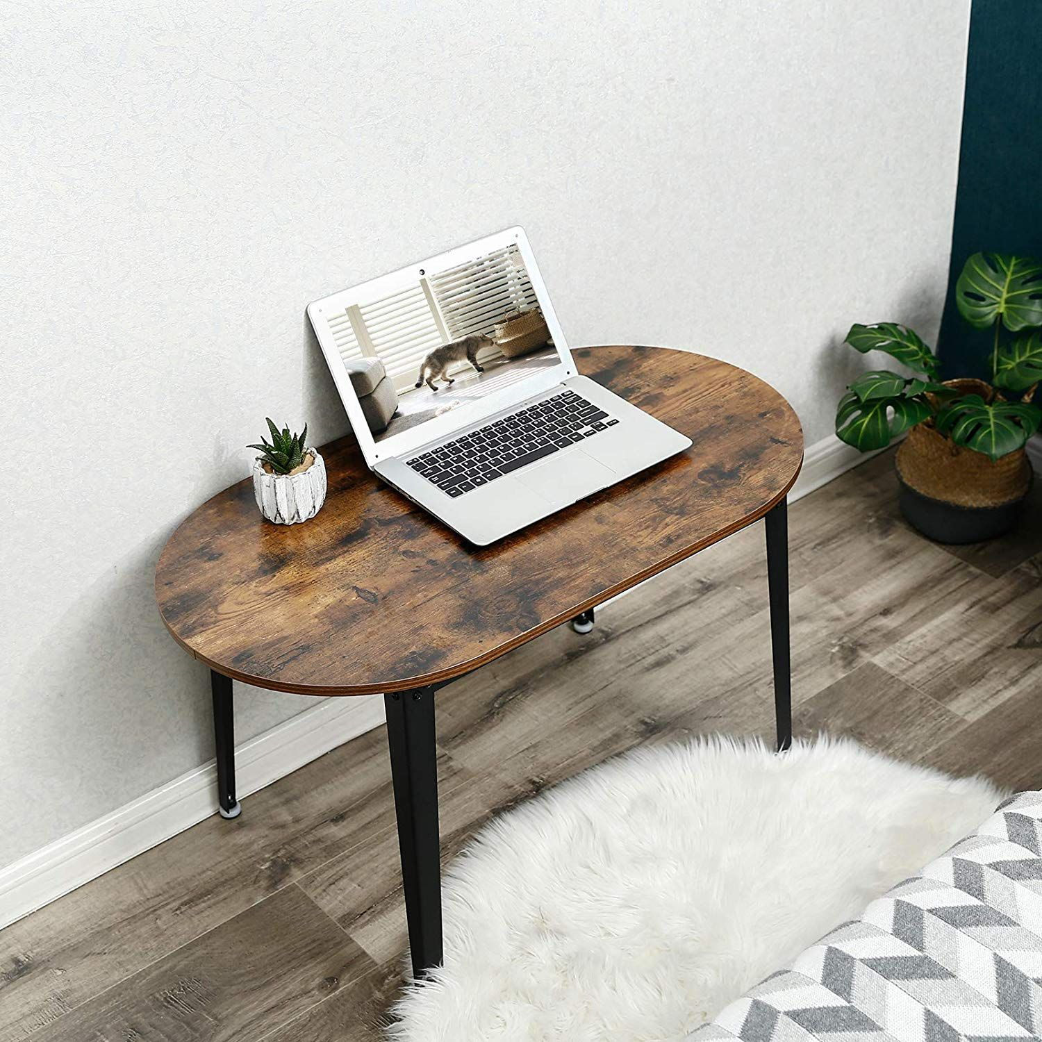 Amazon Com Vasagle End Table Small Coffee Table For Small Space