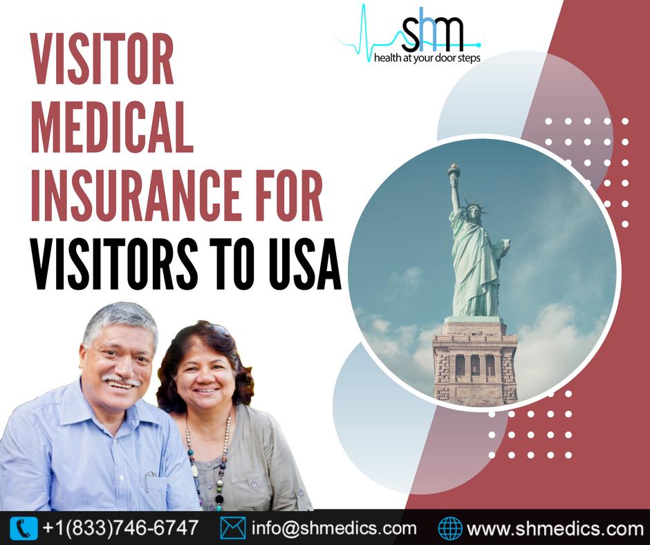 Parents or Relatives visiting USA? Buy Visitors Insurance