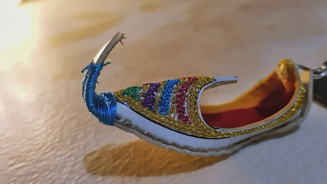 Handmade Gifts Hold A Special Meaning Always The Details You See On This Are From The Creations Of Zs Trea A Handicrafts Handmade Gifts Heels Handmade