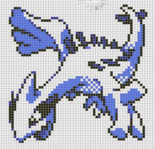 Like This Pixel Art Visit For More Grids Just Like This Pokemon