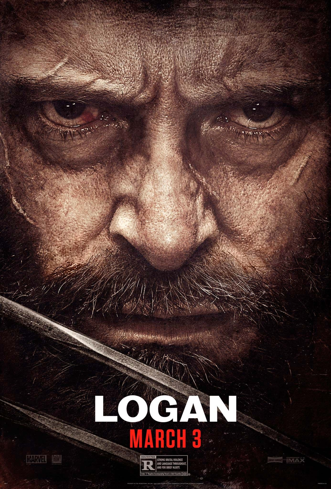 Cartel de \'Logan\' | Carteles de Cine | Pinterest | Cartelitos y Cine