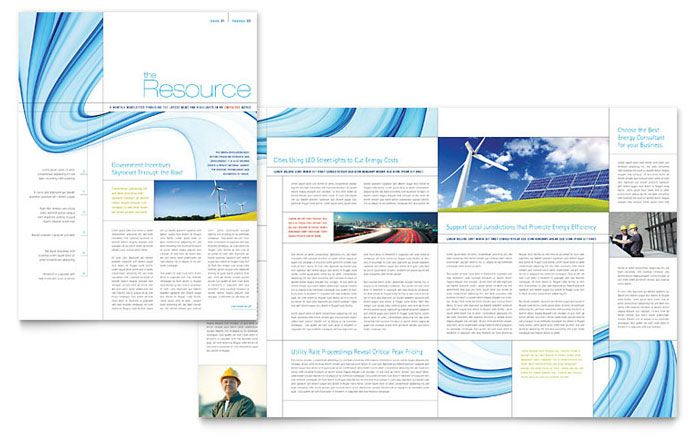 Renewable Energy Consulting Newsletter Design Template By   Proposal Cover  Page Design  Proposal Cover Page Design