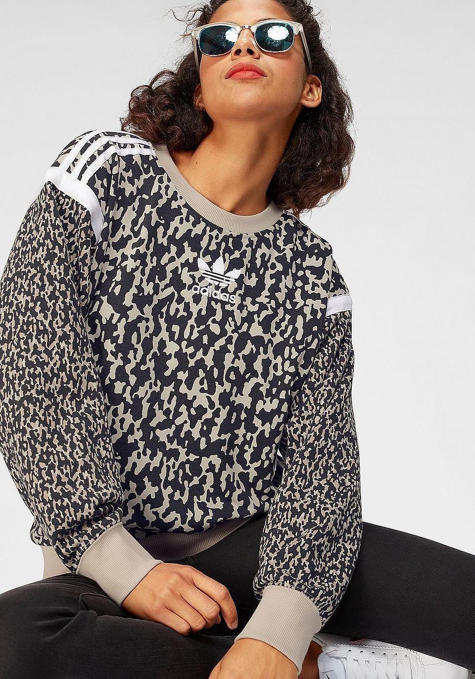 Adidas 'Adidas Originals' Oberteil Mit Leopardenmuster