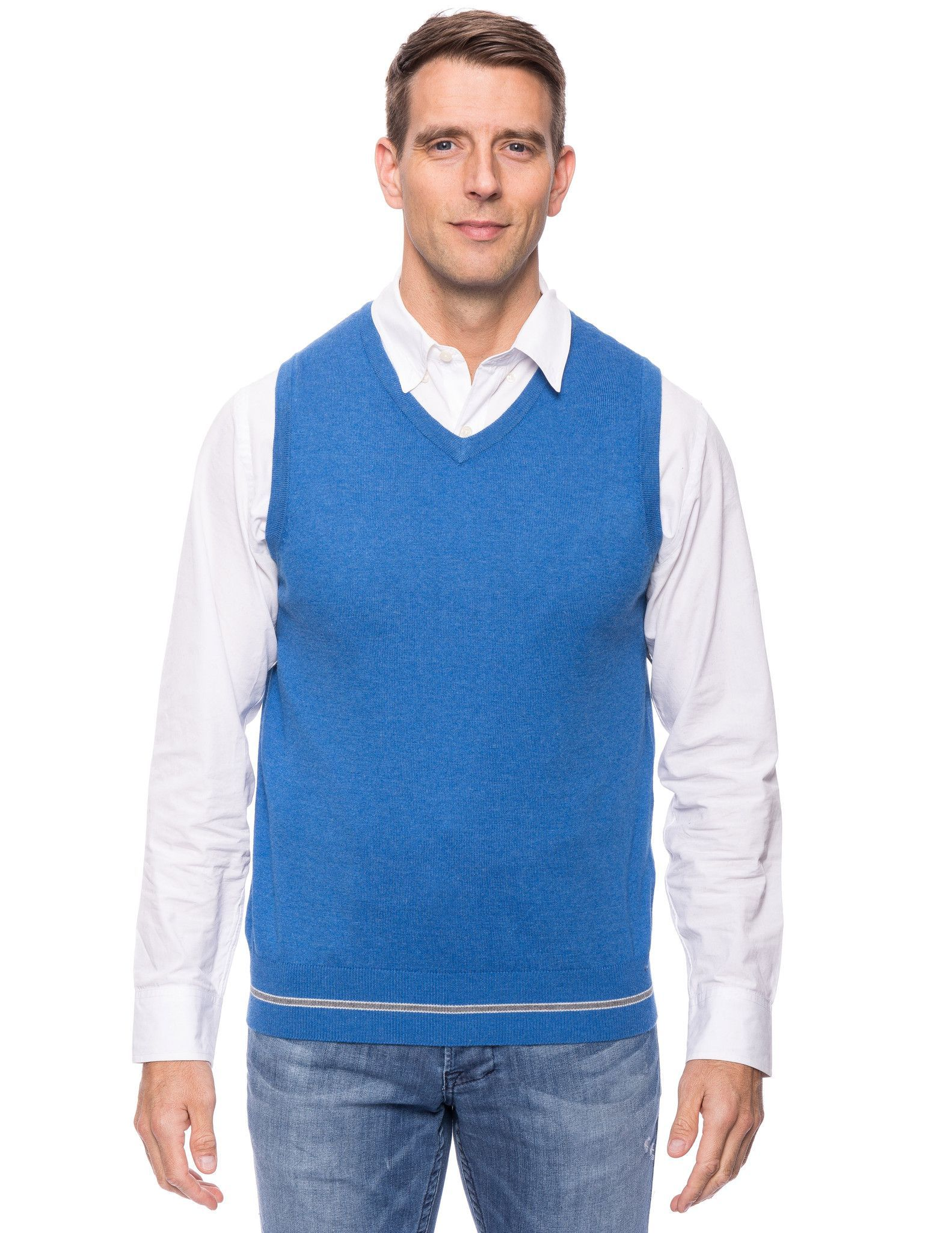 Tocco Reale Gift Packaged Men's Cashmere Blend Sweater Vest ...