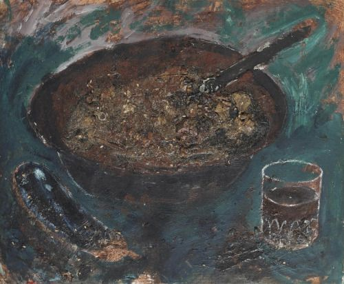 "thunderstruck9: "" Miquel Barceló (Spanish, b. 1957), Arros brut [Dirty Rice]…"