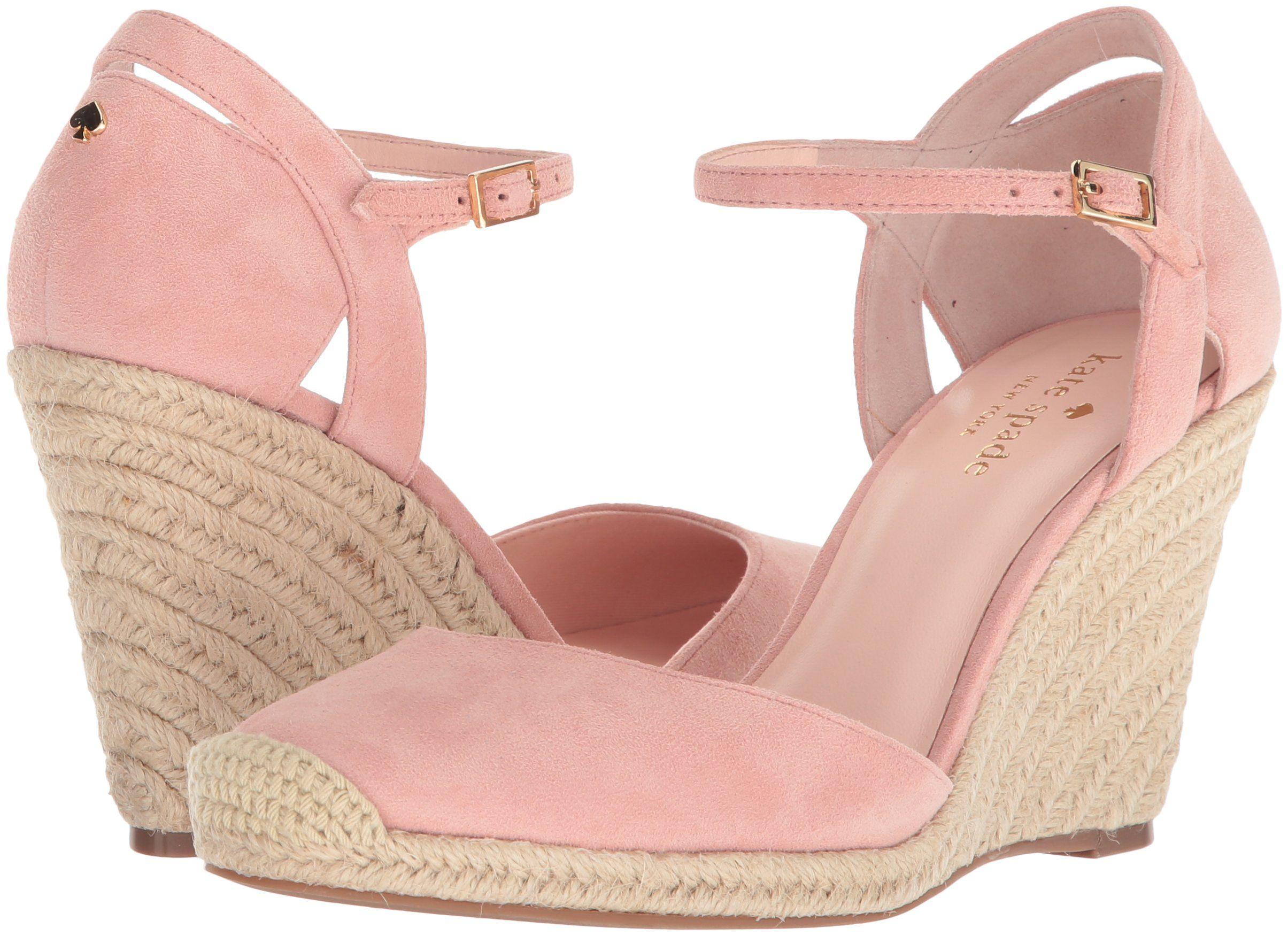 94f45702ca0 Kate Spade New York Womens Giovanna Espadrille Wedge Sandal Pink ...