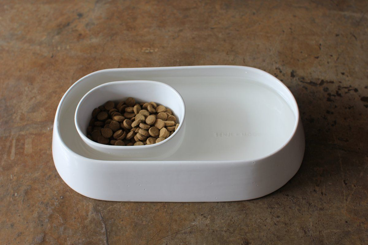 Anti Ant Ceramic Pet Food Water Bowl Ceramic Dog Bowl Dog