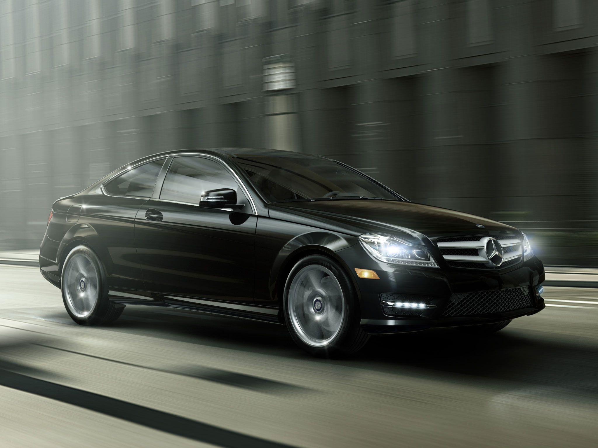 Mercedes C Class Coupe 2014 Black Www Pixshark Com