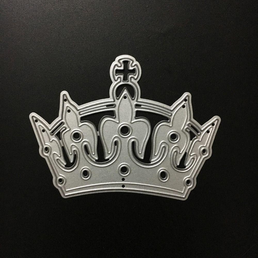 Crown Cutting Dies Stencil For DIY Scrapbooking Embossing Album Paper Card Craft
