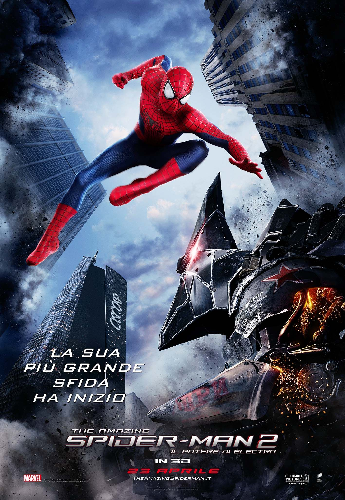 the amazing spider-man 2: il potere di electro (23/04) | opening