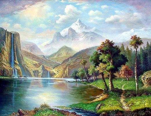 Pin By Jhun Gargantilla On Art Digital Art Canvas Painting Landscape Landscape Canvas Landscape Paintings