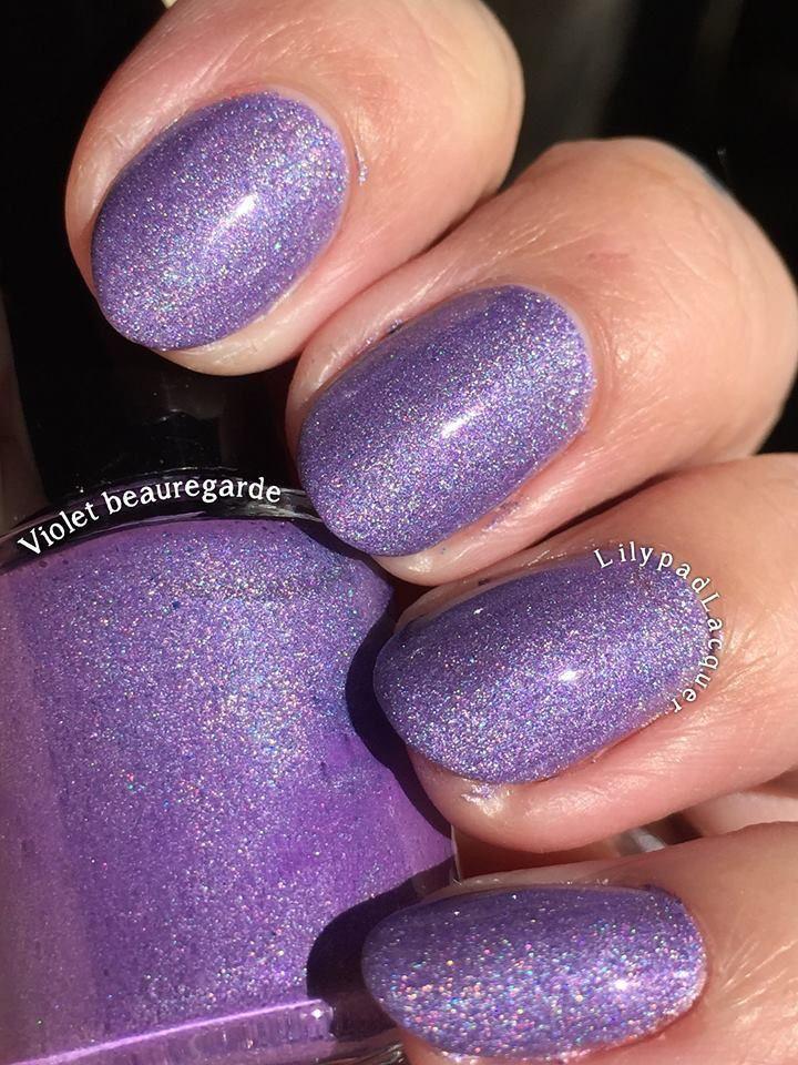 Lilypad Lacquer - Violet Beauregard