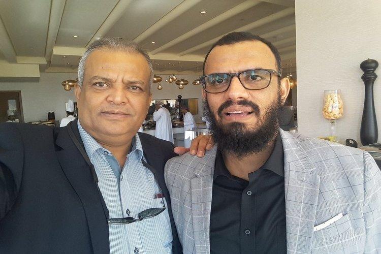 هاني بن بريك ولطفي شطارة يزوران مسقط وناطق الانتقالي يكشف