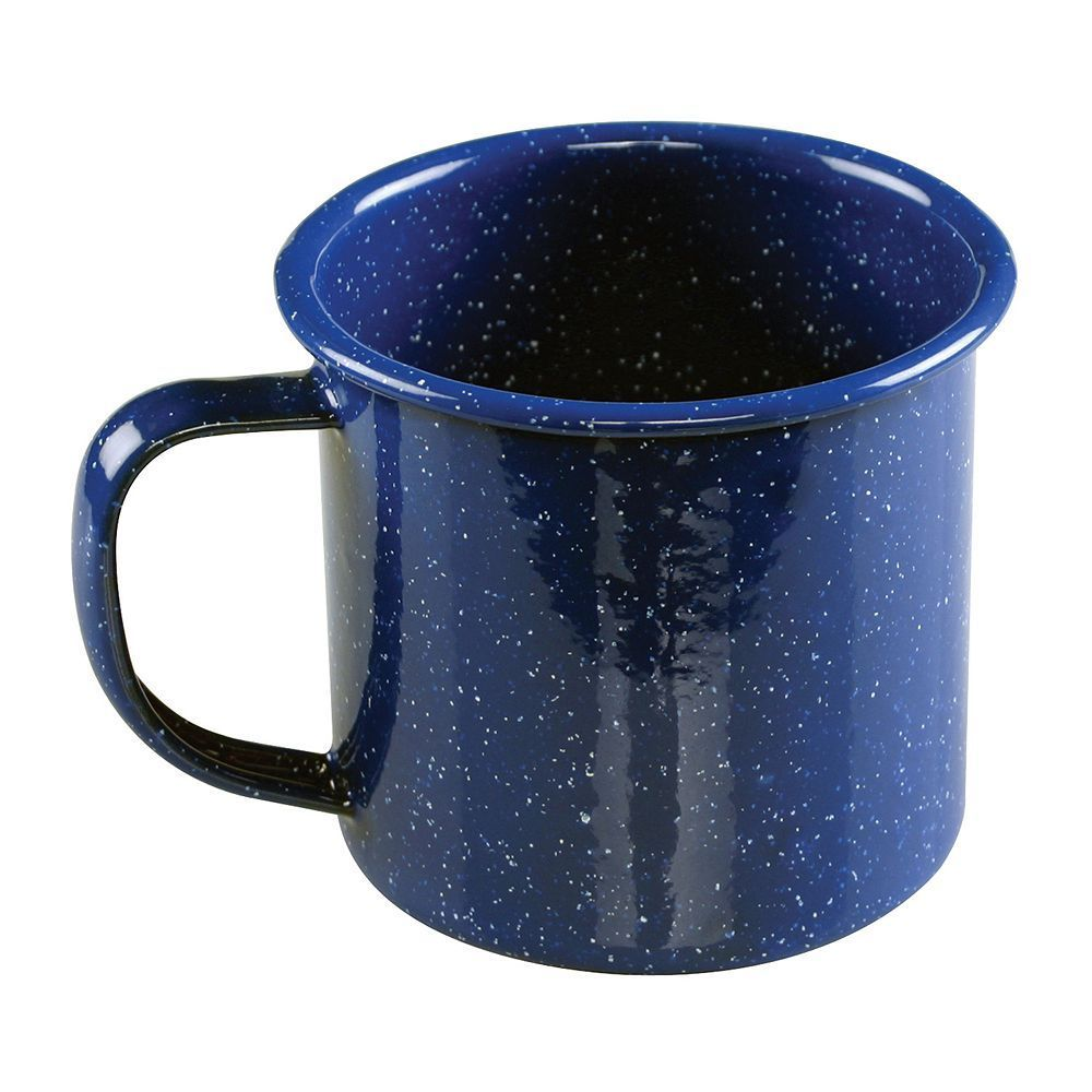 Shop Large Light Weight Camping Coffee Mug Tin Cup Enamel