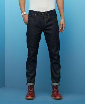Shuttle Taper Jeans - Selvedge Rigid - Levi's - levi.com