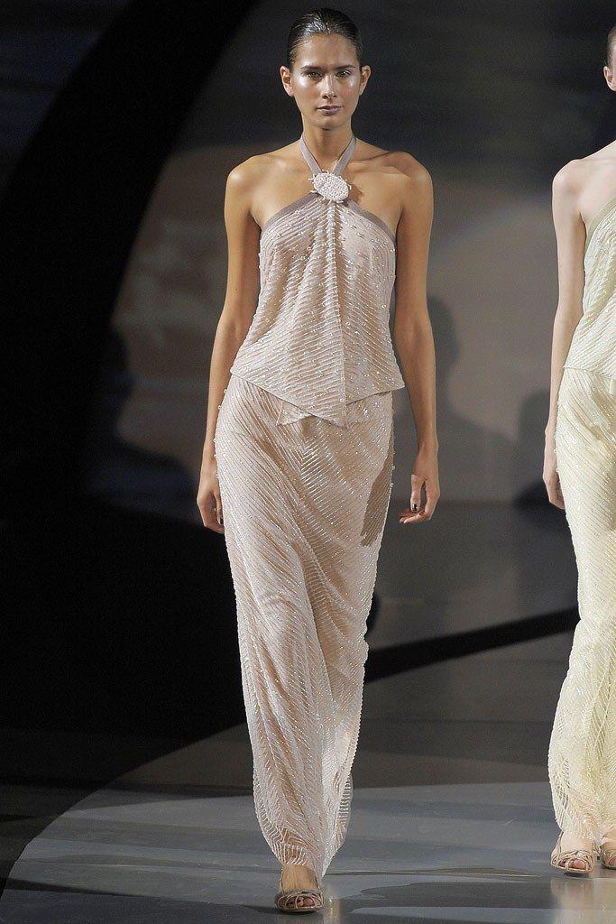 Emporio Armani Spring 2009 ReadytoWear Fashion Show in