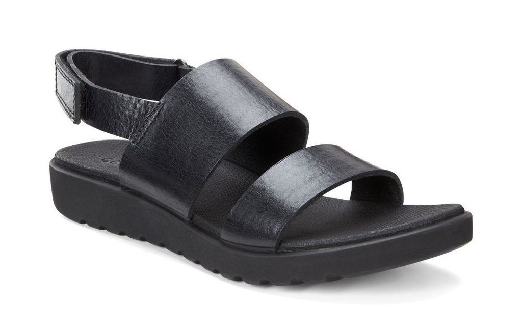 8bcfaecc7 ECCO Freja 2 Strap Sandal (BLACK)