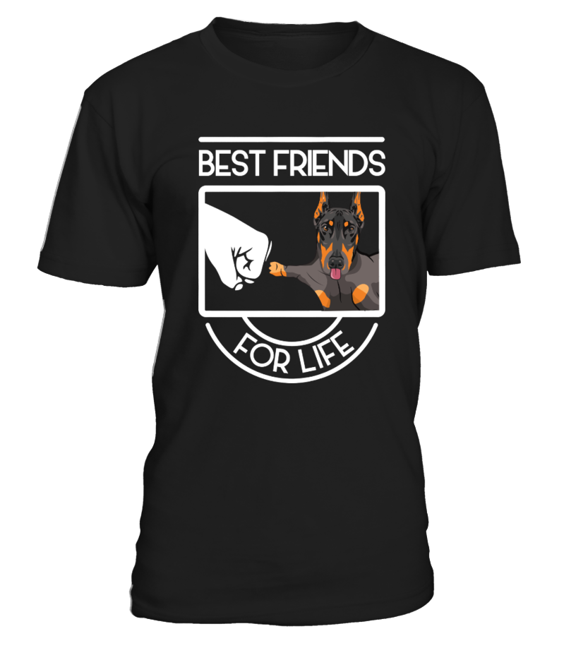 Best friends for life Doberman Pinschers  Funny Best friend T-shirt, Best Best friend T-shirt