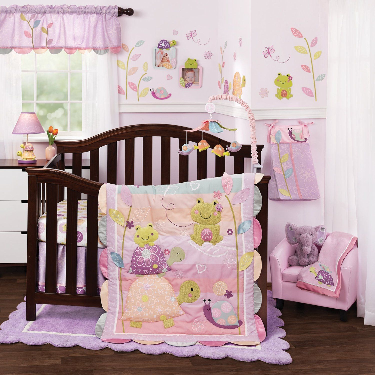 Lambs And Ivy Puddles Baby Bedding Nursery Accessories