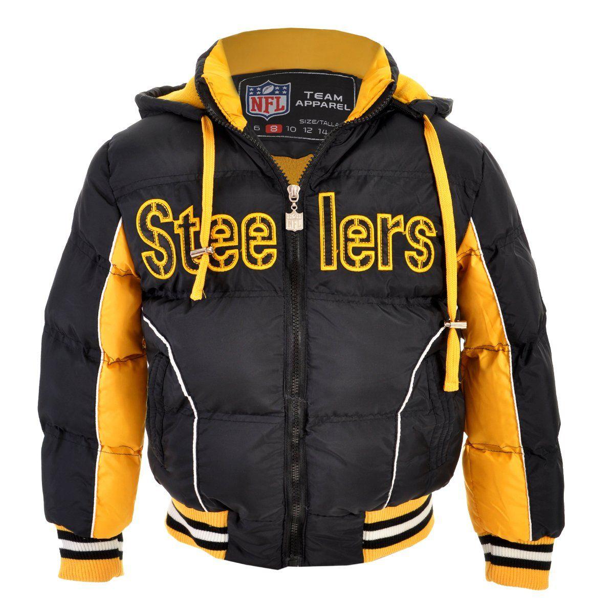 CHAMARRA NFL PITTSBURGH STEELERS- NIÑO  74edf4a66042