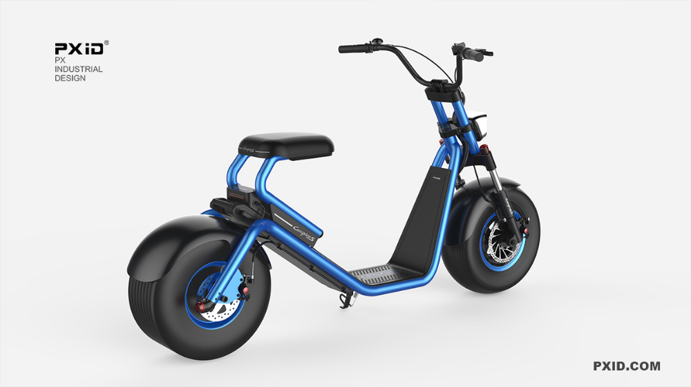 Luqi Harley Scooter Id Md Lq1 New Powerful Electric Scooter City